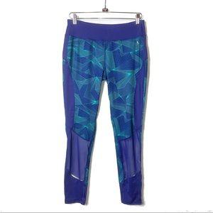 DANSKIN NOW Blue/Green Performance Fitted Legging